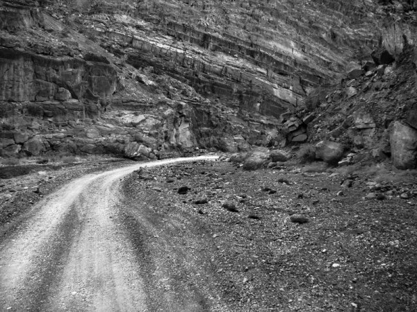 The Road Down Titus Canyon