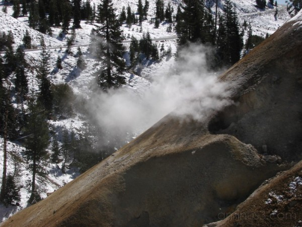 Steam Vent at Lassen Volcanic National Park