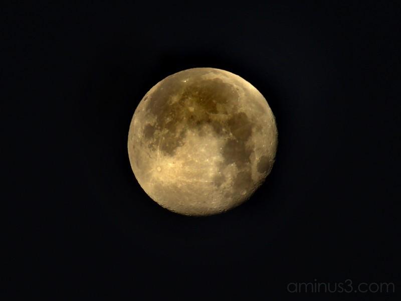 Moon Study - Christmas - 2007