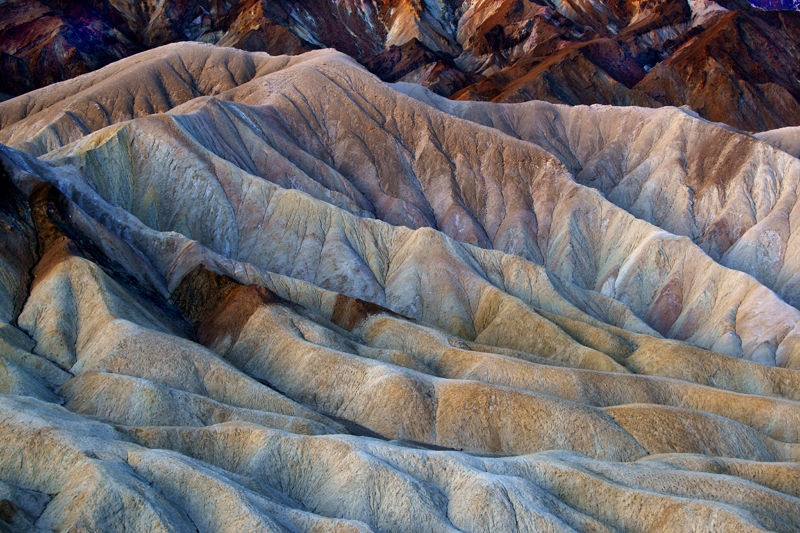 View From Zabriskie Point, Death Valley