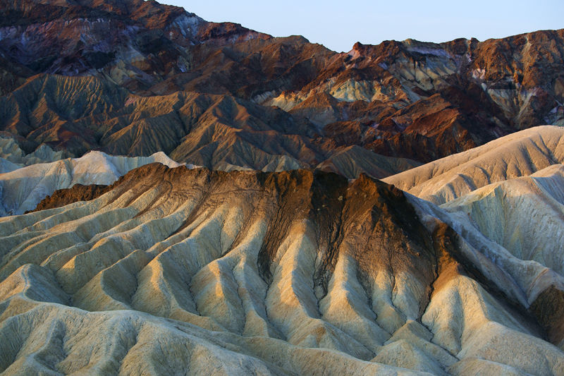 View from Zabriskie Point II - Death Valley, CA