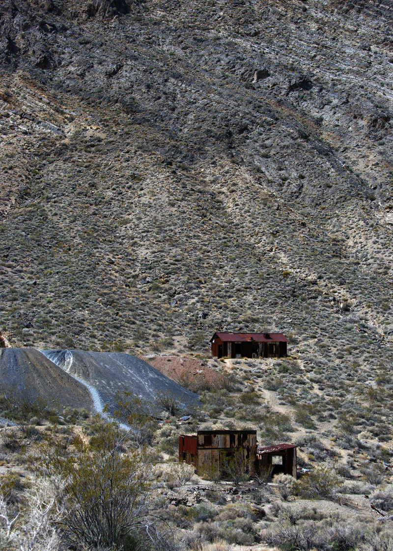 Ghost Town Mining Camp - Titus Canyon Road - DV