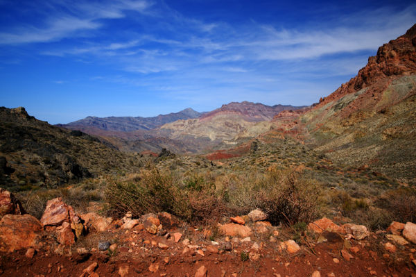 Another View From Titus Canyon Rd.  DV