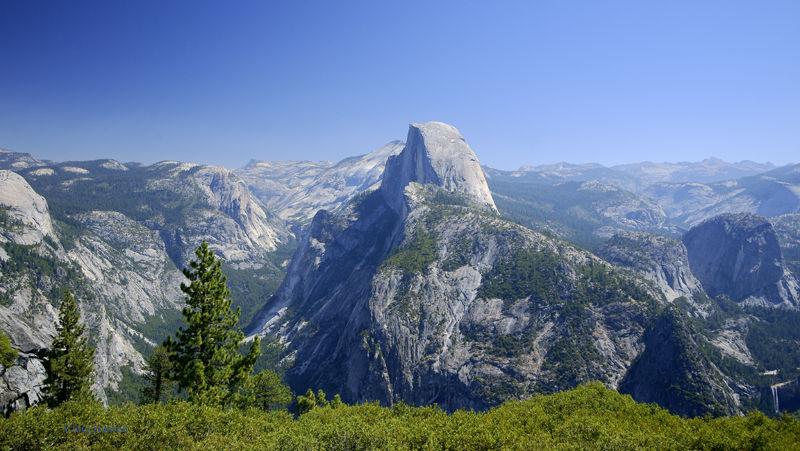 Half Dome from Glacier Point, Yosemite NP