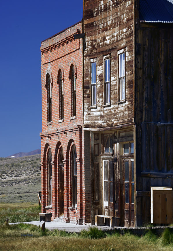 Downtown Ghost Town - Bodie, California