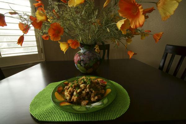 Chicken Mushroom Potato Hash
