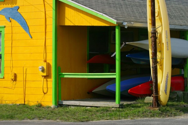 Kayak Shack on Chincoteague Island