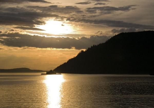 Dusk Ferry