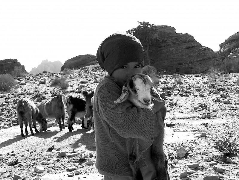 lil' bedouin girl