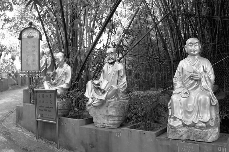 Buddha, China, 10,000 Buddha Temple