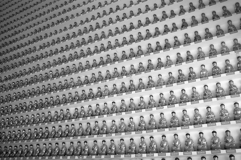 Buddhas, 10,000 Buddha Monestary China