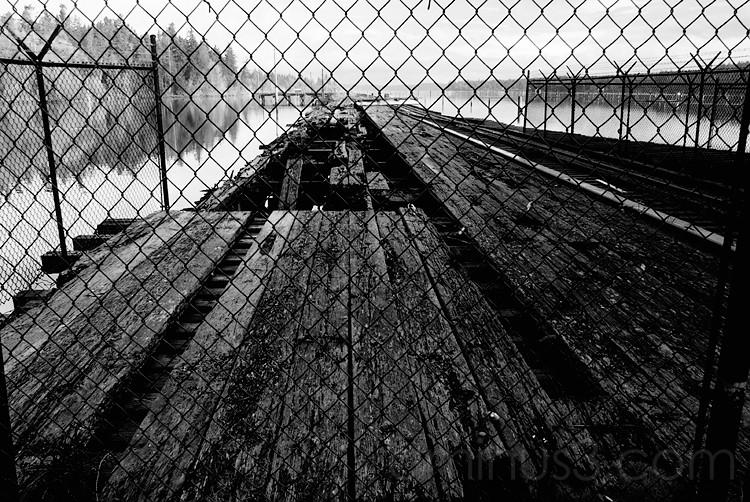 The Closed Pier @ Woodard Bay