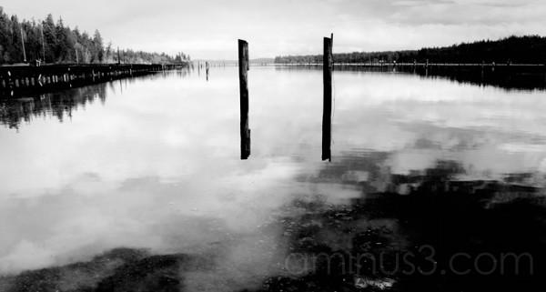 Pylons & Peir @ Woodard Bay