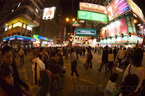 X-MAS Eve in Hong Kong