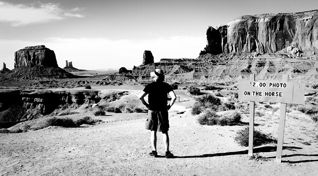 Life in Monument Valley