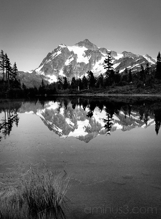 Mt. Shuksan vertical