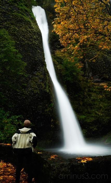 Autumn at Horsetail Falls
