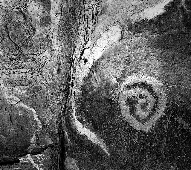 Monument Valley Petroglyph