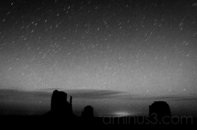 Star Trails, Monument Valley Tribal Park