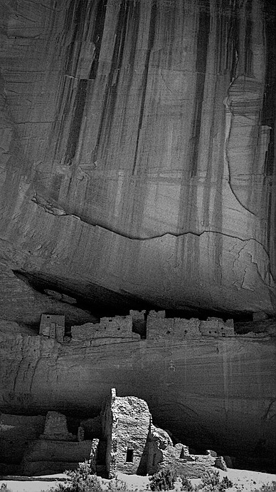 White House, fuller view; Canyon de Chelly