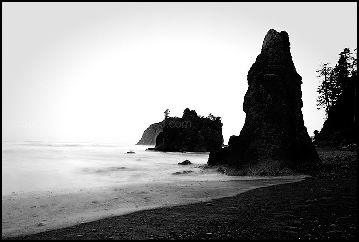 Morning, Ruby Beach