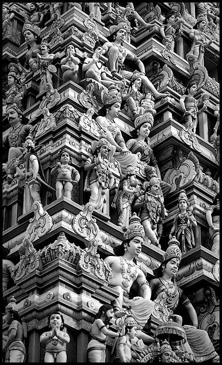 Tower of Gods - Little India, Singapore