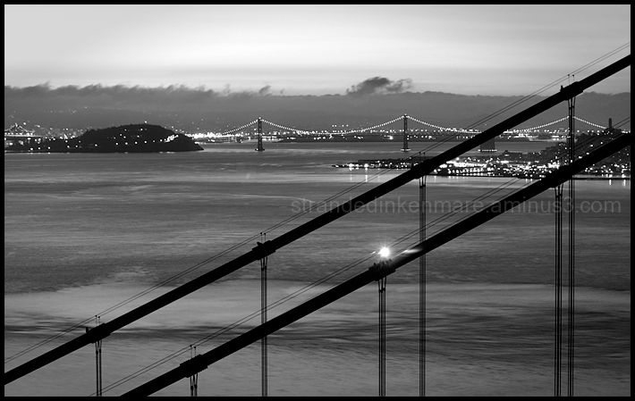 Bay Bridge from Marin Headland