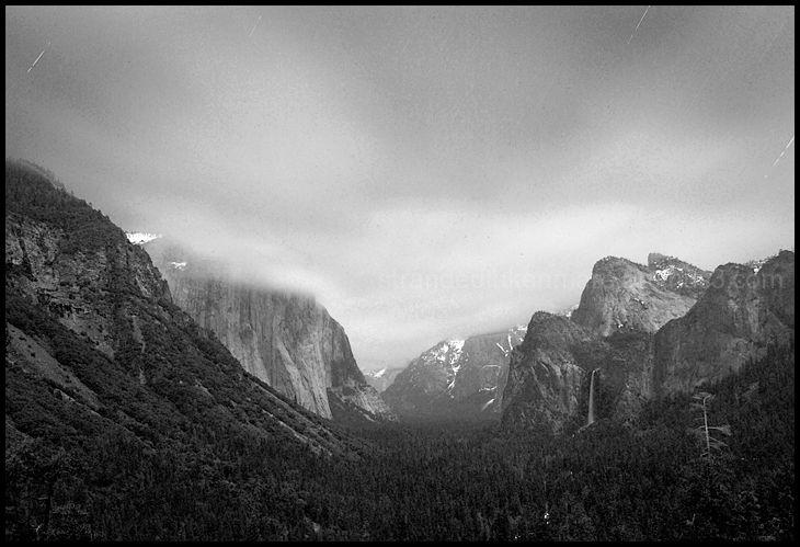 Tunnel View at Night, Yosemite NP