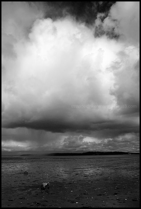Storm Clouds Over Nisqually Reach #2