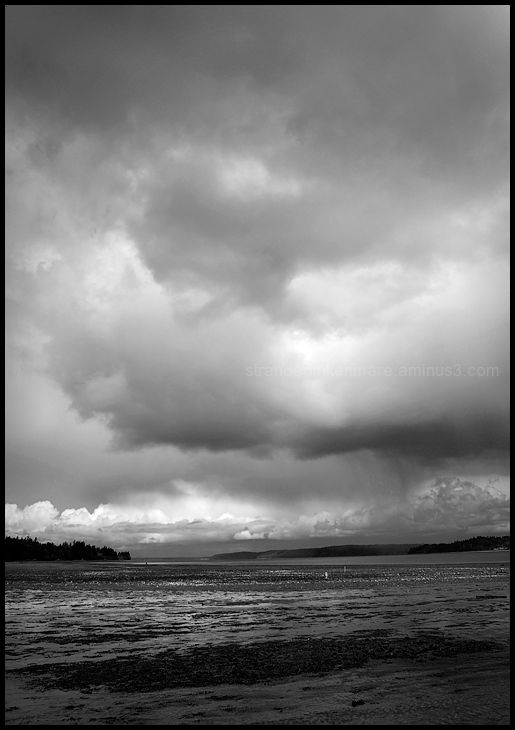 Storm Clouds Over Nisqually Reach #3