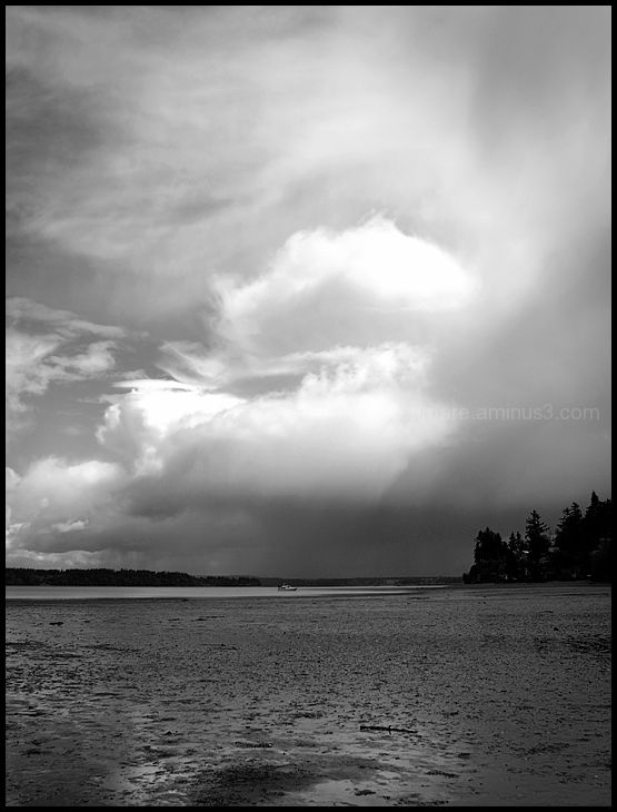 Storm Clouds Over Nisqually Reach #5