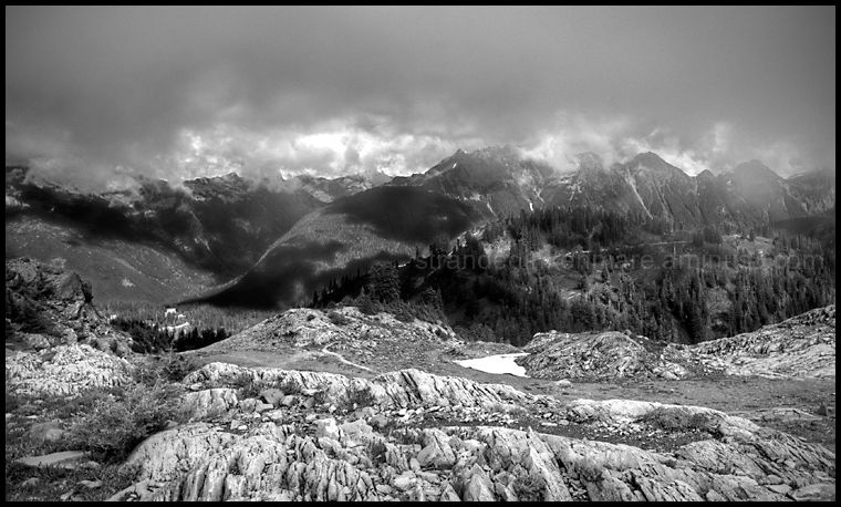 North Cascades from Artist Point