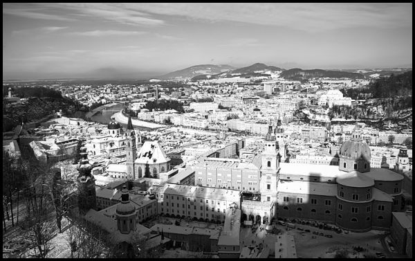Salzburg in the Morning