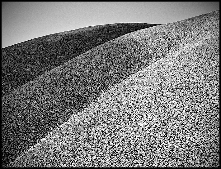 Painted Hills-Moonscape