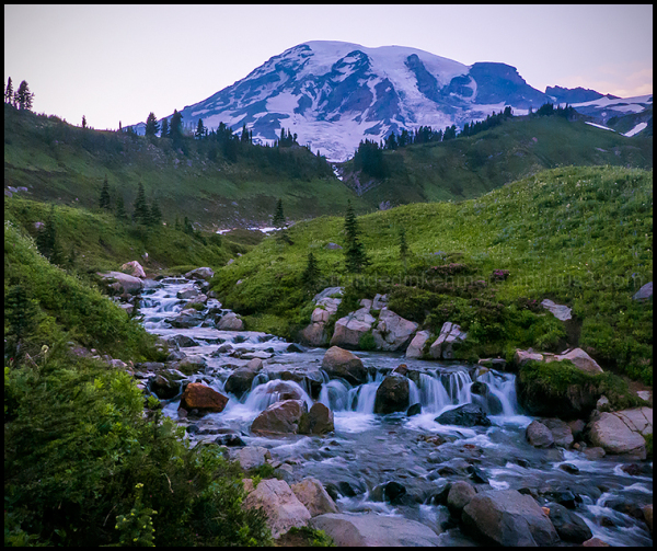 Edith Creek, Mount Rainier NP