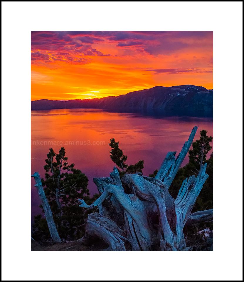 Sunrise, Crater Lake