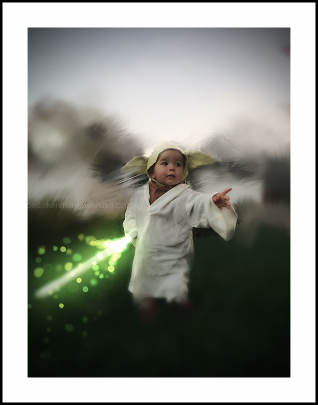Yoda before he became a master