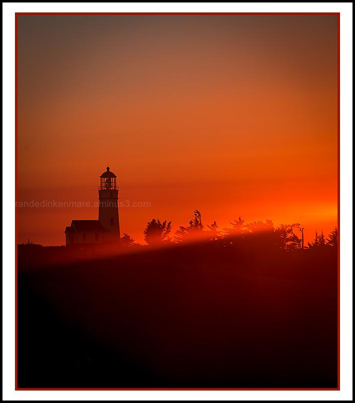 Last Light, Cape Blanco Lighthouse
