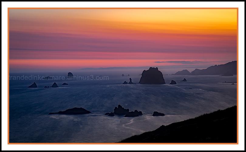 Cape Blanco,  Sunrise