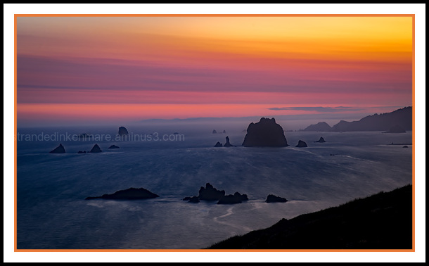 Cape Blanco,  Sunrise