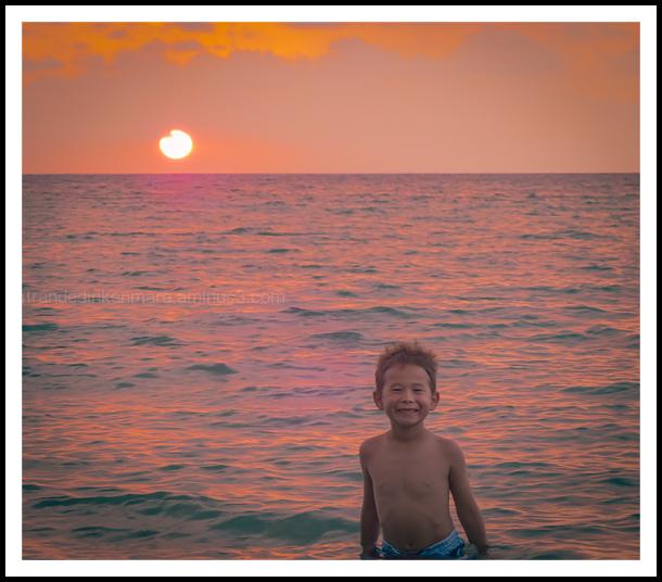 Big Island Adventure- Sunset Swim