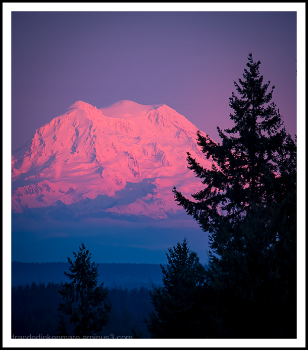 Glowing Rainier