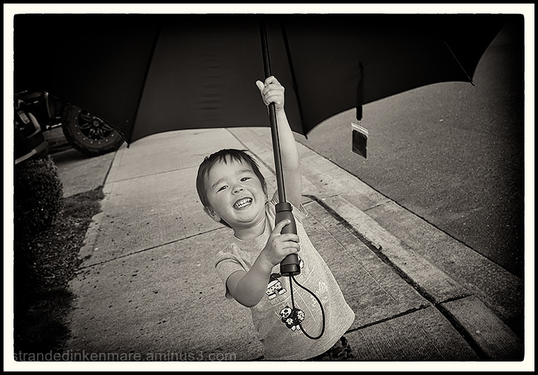 Umbrella Boy!