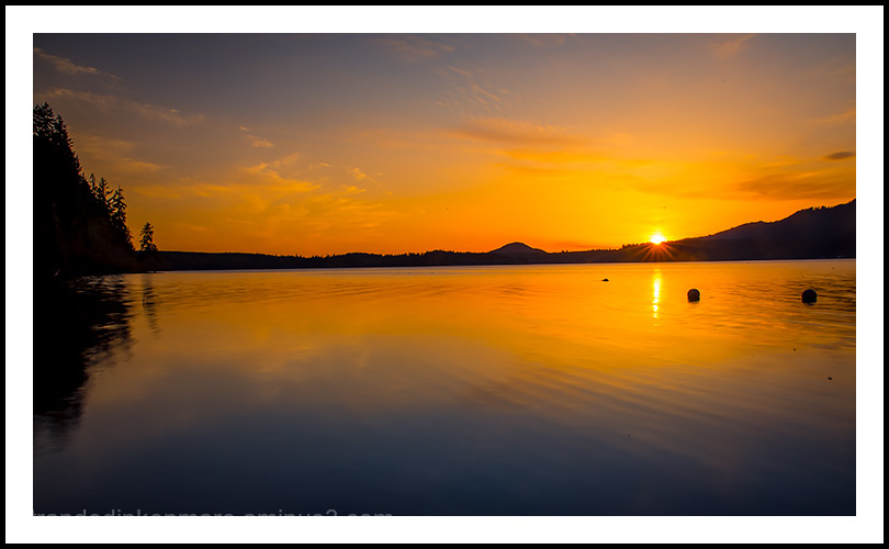 Setting Sun, Lake Quinault