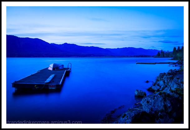 Evening, Lake Quinault
