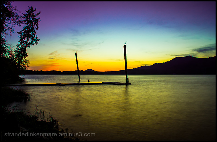 Dock, Lake Quinault