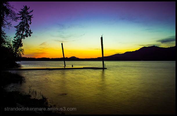 Dock, Lake Quinault