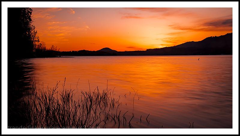 Sunset, Lake Quinault