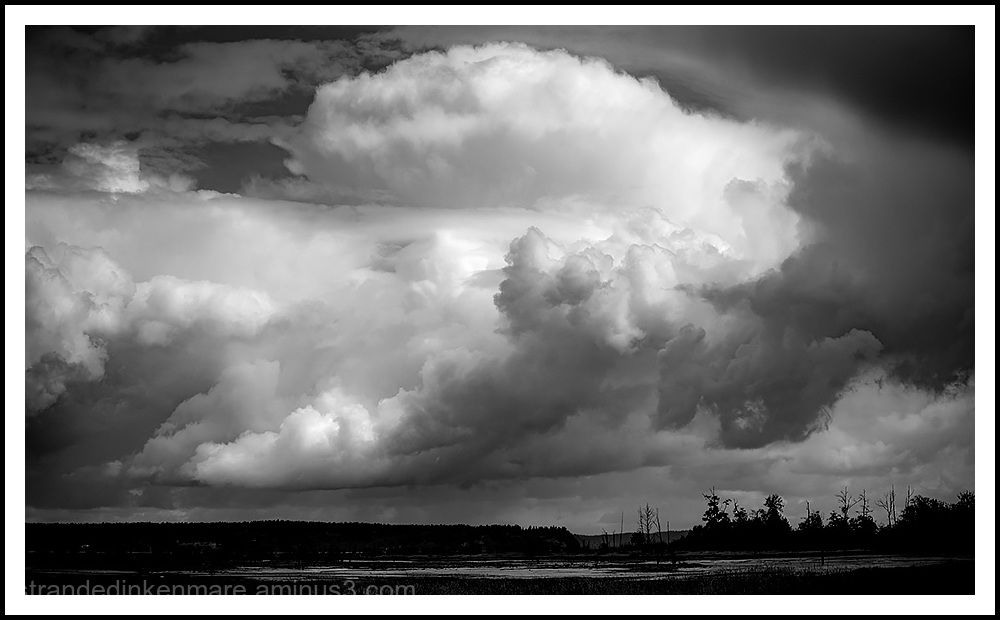 Storm Clouds over Nisqually Delta