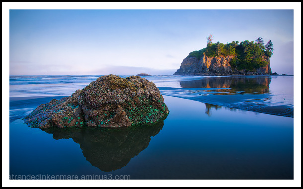 Ruby Beach Tide Pool @ Sunrise
